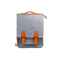 JUNYUAN Manufacturer Custom New Handmade Felt Laptop Backpack
