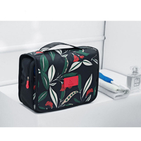 JUNYUAN Portable Toiletry Makeup Waterproof Cosmetic Pouch Bag for Women