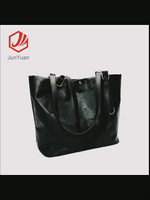 New Fashion Women Pu Leather Tote Bag Retro Classic shopping Handbag