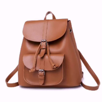 Wholesales OEM PU Fashion Woman Backpack Travel Shoulder School Mini Backpack