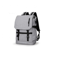 JUNYAUN Multiple Use USB Design Laptop Backpack Bags For Male And Female