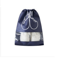 JUNYUAN Non-woven Fabric Drawstring Pocket Travel Shoes Storage Bag ,Shoes Dust Bag