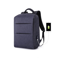 JUNYUAN Hot Selling Multi-function Laptop Backpack with USB Cable