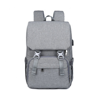 JUNYUAN Multifunctional Backpack Bags Large Capacity Waterproof USB Charger Mummy Mom Nappy Bag Baby Diaper bag