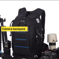 DSLR Camera and Mirrorless Backpack Bag for Camera and Lens