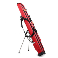 JUNYUAN Outdoor Waterproof Fishing Rod Bag Fishing Rod Carrier Pole Storage Bag