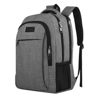 Large Capacity Anti-theft Multi-function Laptop Backpack with USB Cable