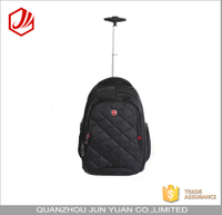 Multi-use carry on flight travel trolley backpack with detachable trolley