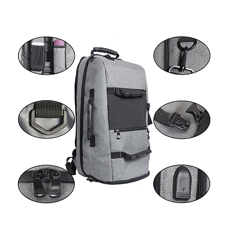 Anti-theft Backpack Business Laptop Backpack Travel Pack with USB Charging Port