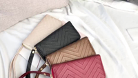 JUNYUAN New European And American Fashion Simple Hand-held Long Wallet