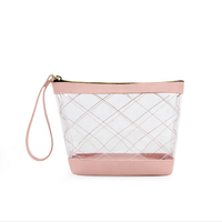 JUNYUAN Carry-on Travel Portable Cosmetic Make up Bag Handbag