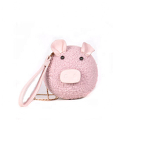 JUNYUAN 2019 New Cute Pig Girl's Messenger Bag ,Hand Bag For Women
