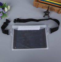JUNYUAN Custom Waterproof Sports PVC Pockets Mobile Phone Waist Bags
