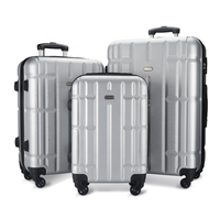JunYuan Large Capacity Trolley Luggage Suitcase Outdoor Luggage