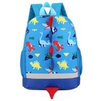 Children Kids Outdoor Animal Print Student Kindergarten Oxford Canvas School Bag