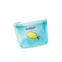 Hot sale transparent cute laser PVC coin purse for girl