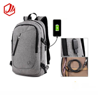 2018 New Style 15 Inch Waterproofing Laptop Backpack With Usb Charging