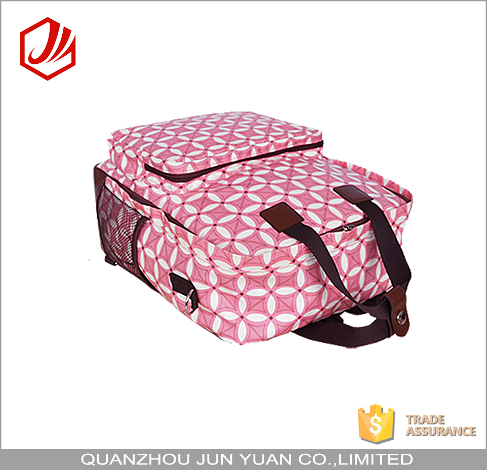 Wholesale 3 in 1 mummy diaper tote bag with changing pad