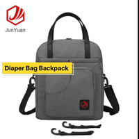 2018 Wholesale Diaper Backpack Multi-function Changing Shoulder Bag Nappy Tote Bag